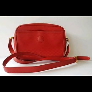 Vintage Gucci red purse